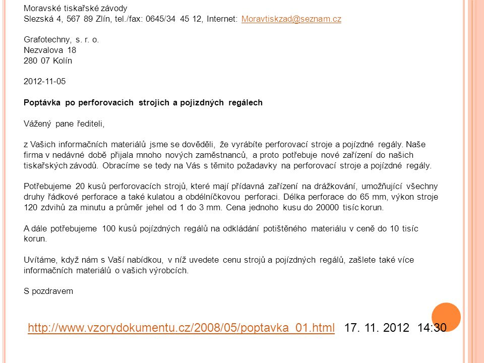 Moravské tiskařské závody Slezská 4, 567 89 Zlín, tel