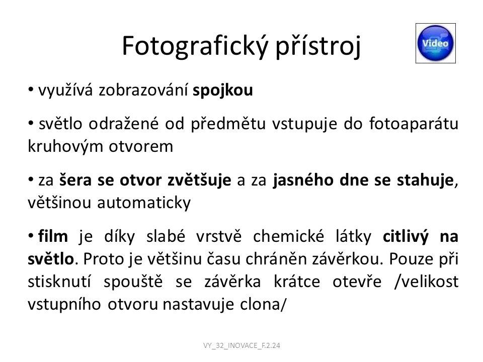 Fotografický přístroj