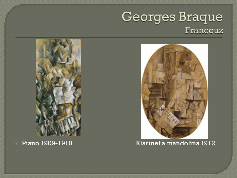 Georges Braque Francouz