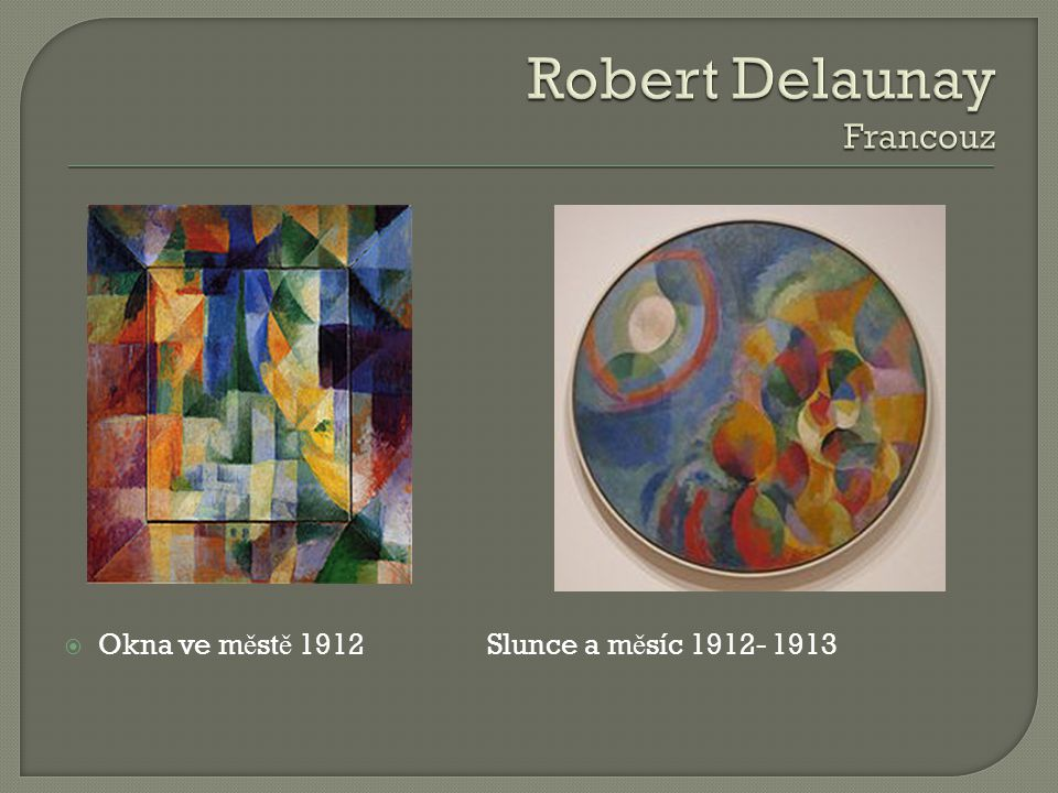Robert Delaunay Francouz