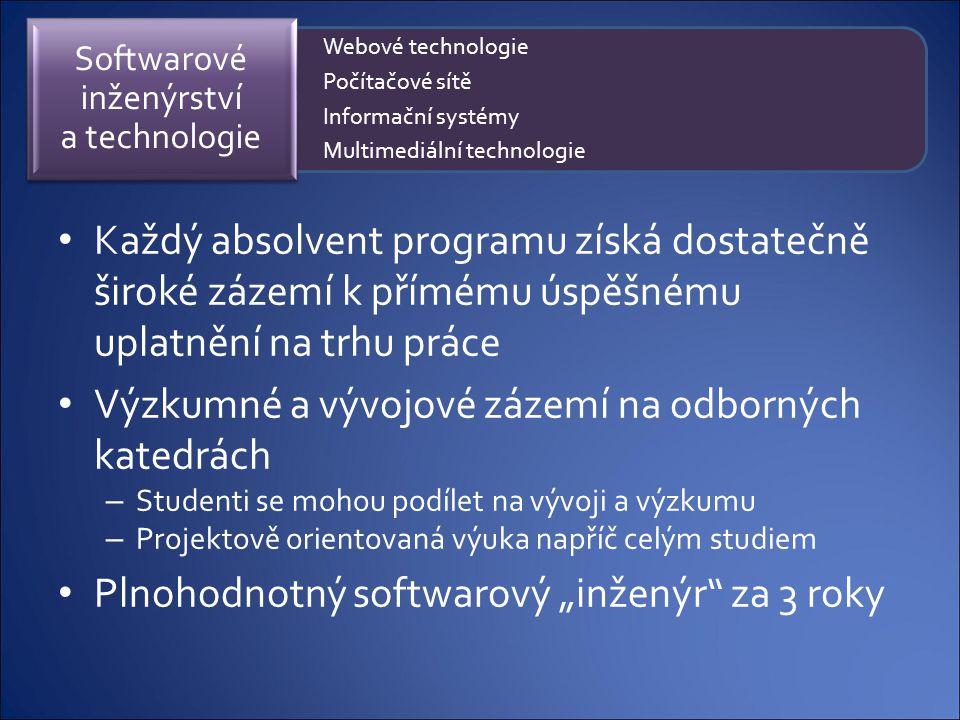 Softwarové inženýrství a technologie