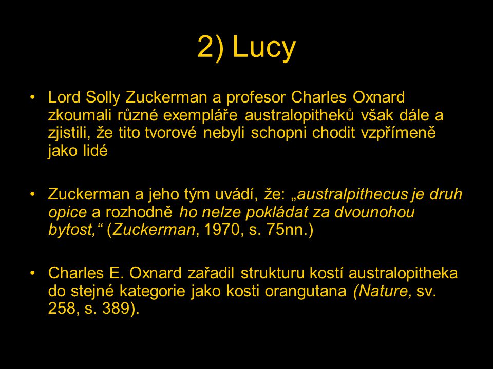 2) Lucy