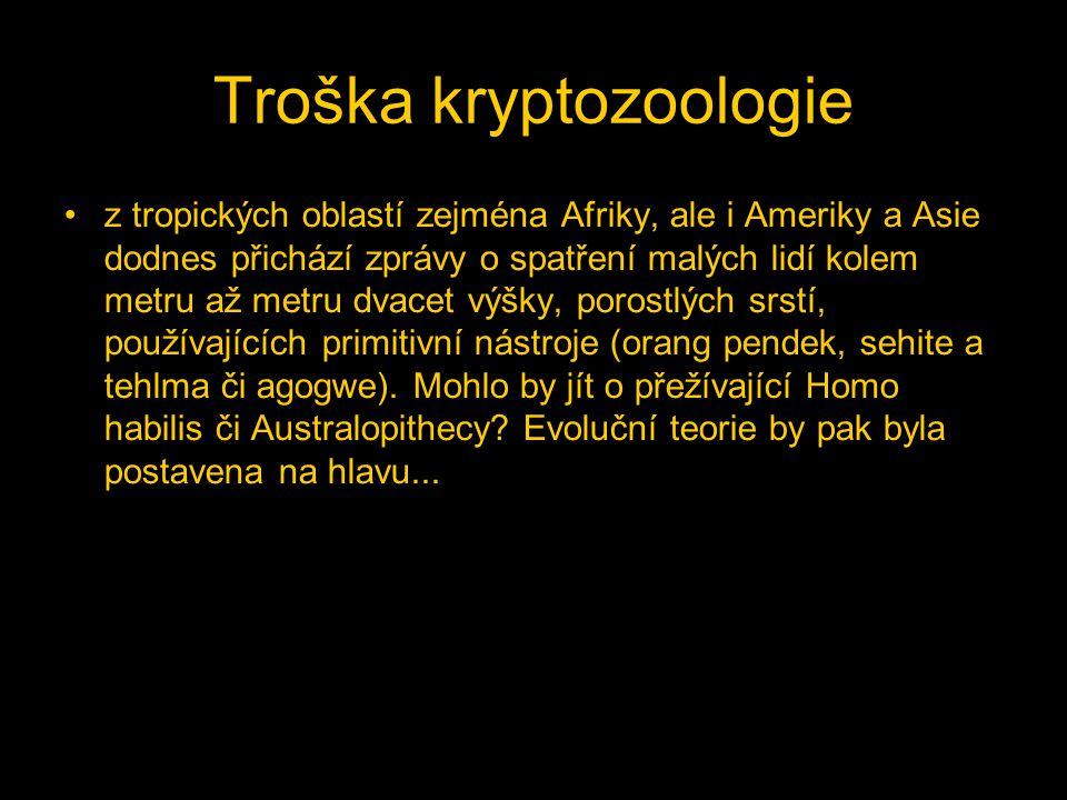 Troška kryptozoologie