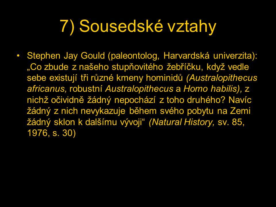 7) Sousedské vztahy