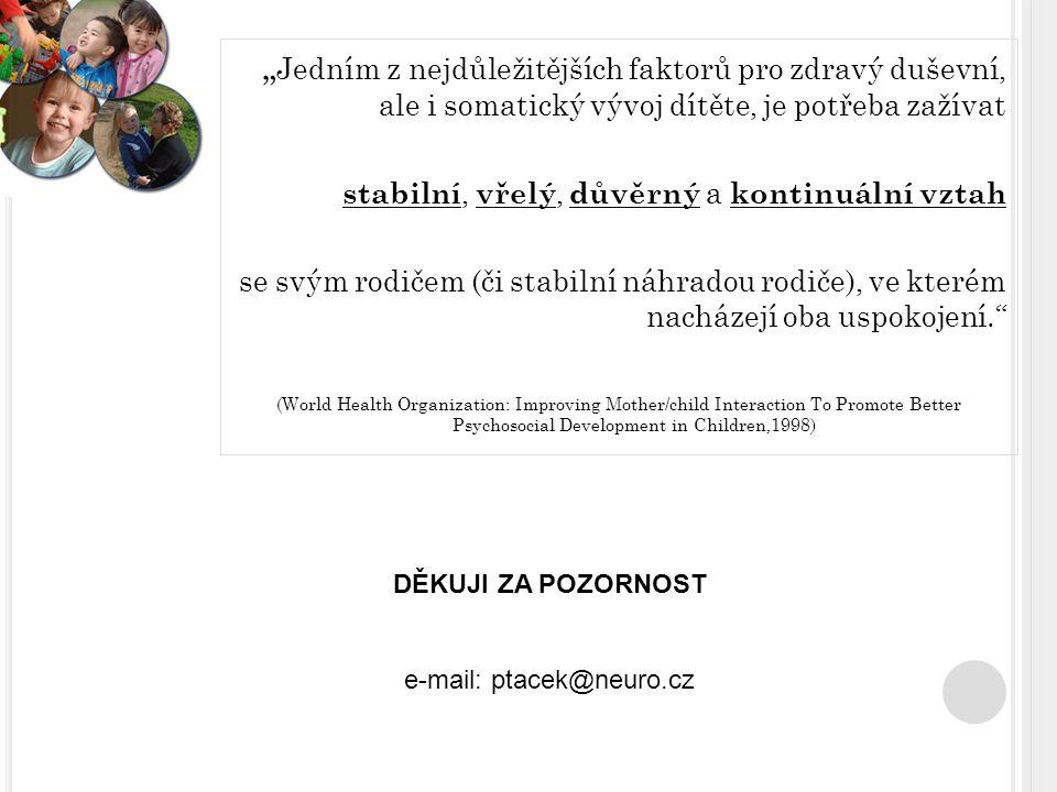 e-mail: ptacek@neuro.cz