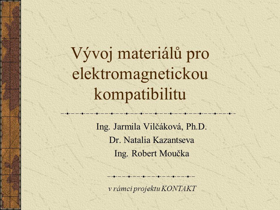 Vývoj materiálů pro elektromagnetickou kompatibilitu