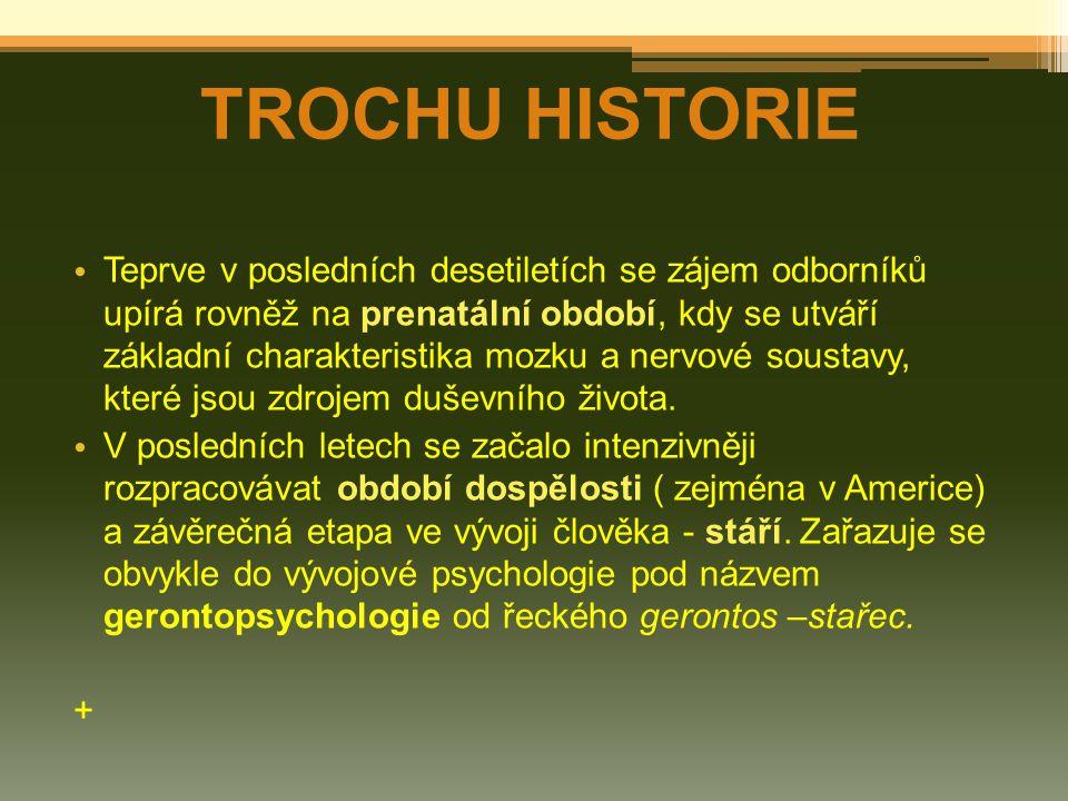 TROCHU HISTORIE