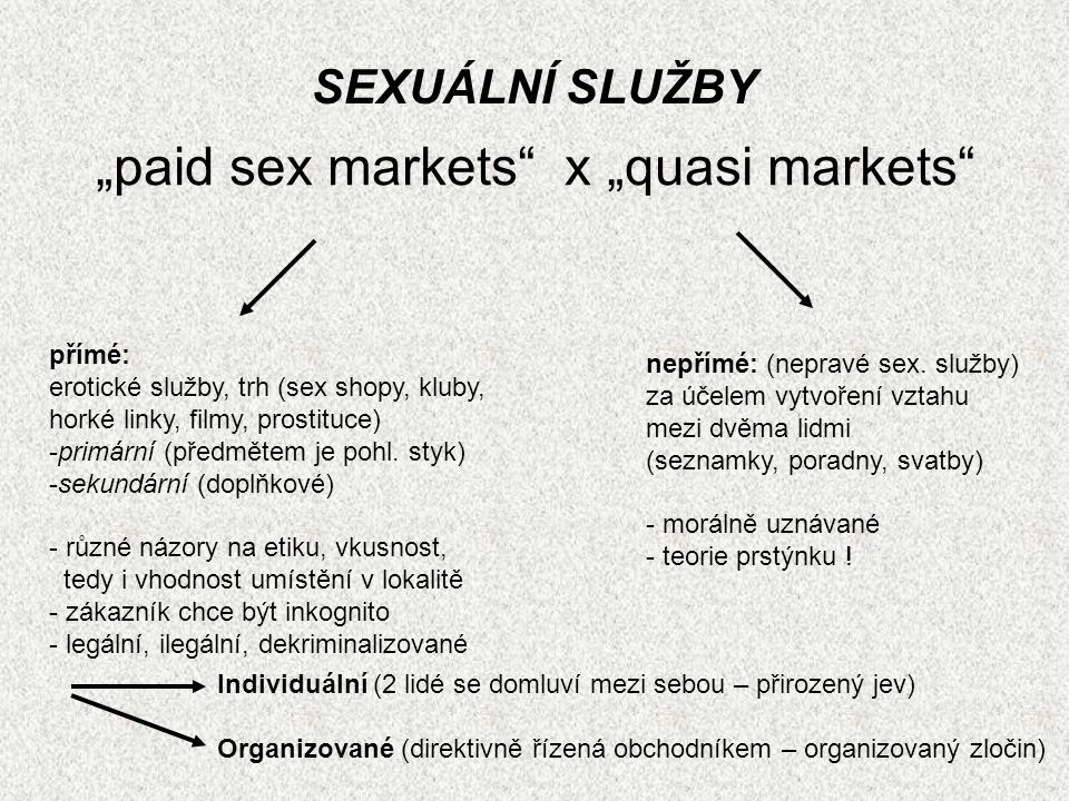 """paid sex markets x ""quasi markets"