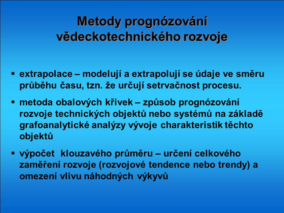 Metody prognózování vědeckotechnického rozvoje