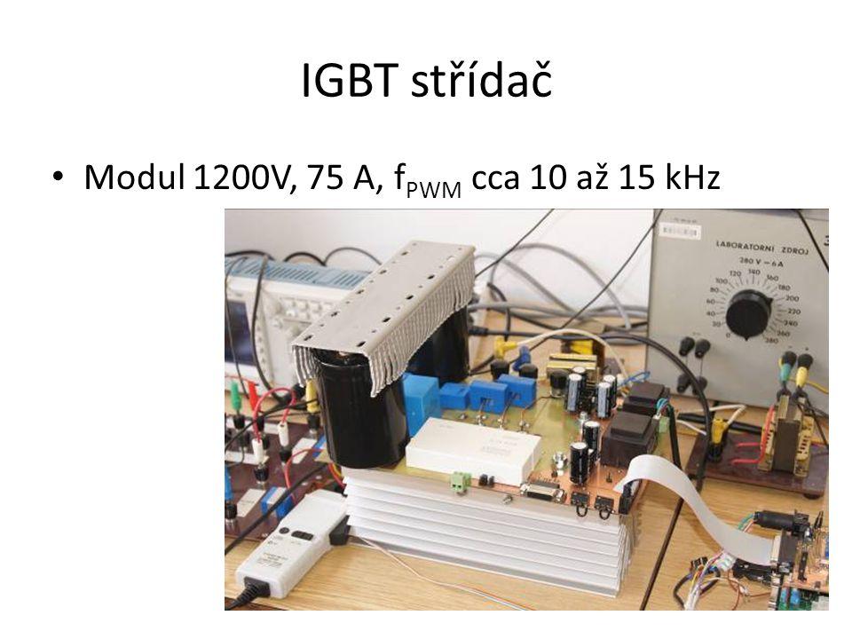 IGBT střídač Modul 1200V, 75 A, fPWM cca 10 až 15 kHz