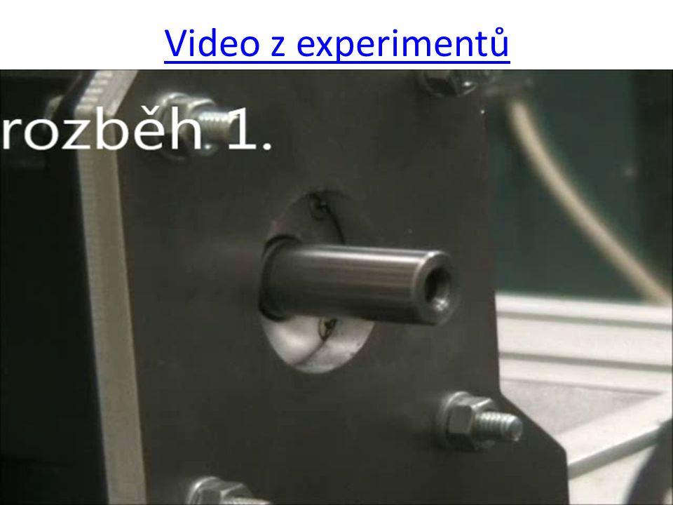 Video z experimentů