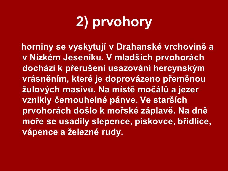 2) prvohory