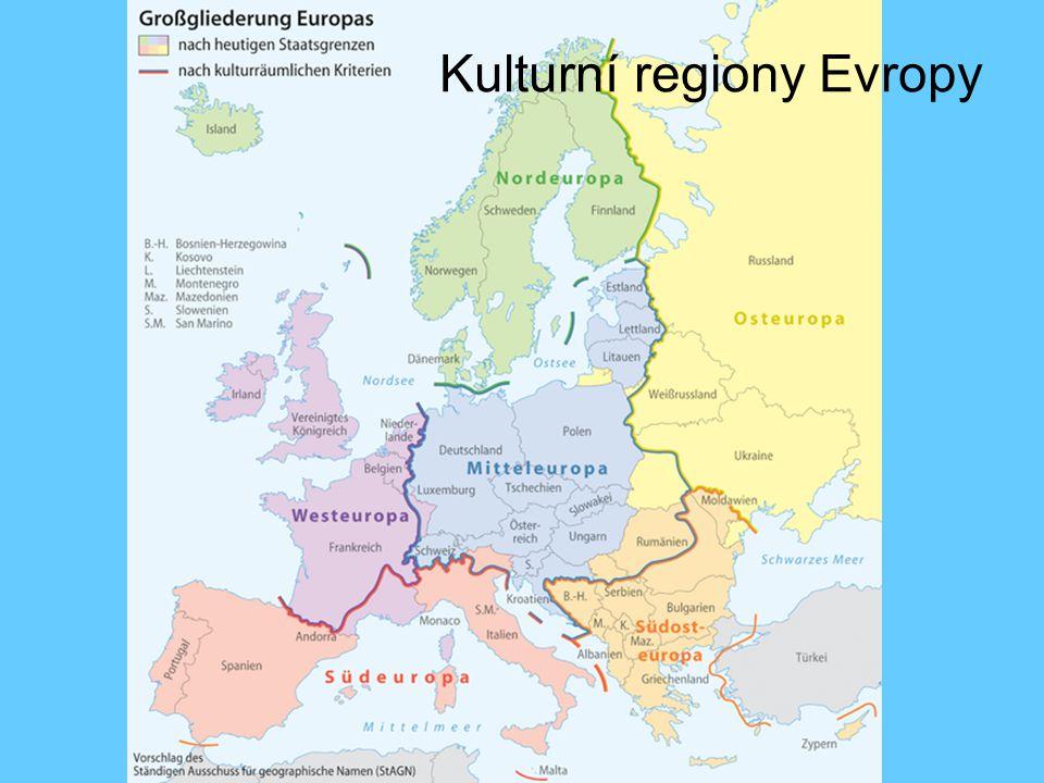 Kulturní regiony Evropy