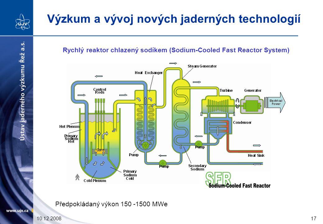 Rychlý reaktor chlazený sodíkem (Sodium-Cooled Fast Reactor System)