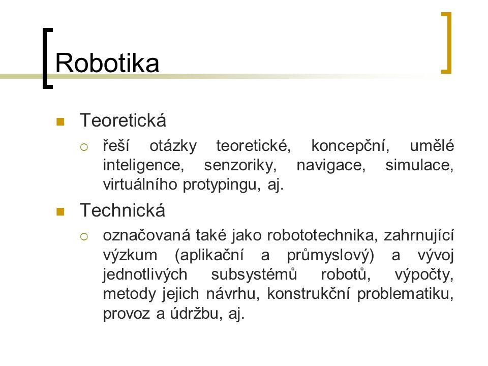Robotika Teoretická Technická