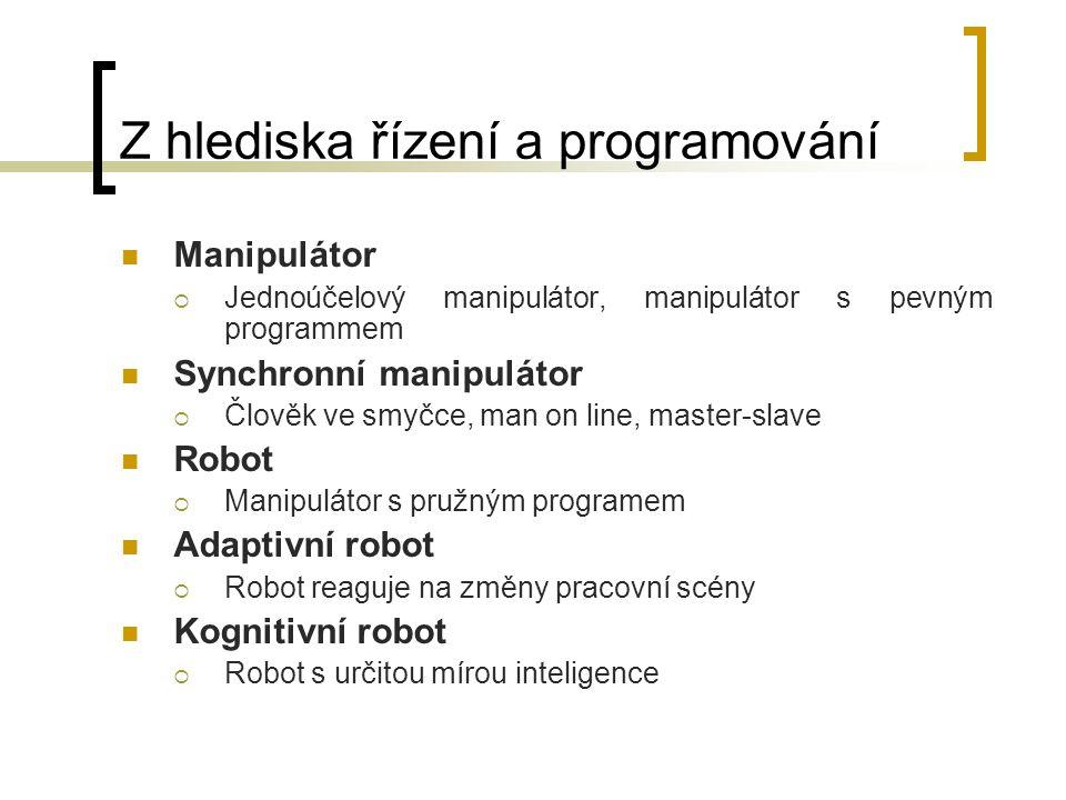 Z hlediska řízení a programování