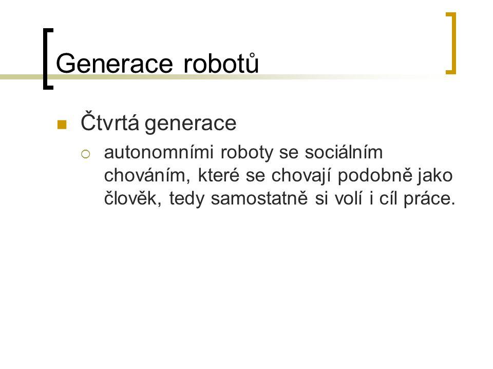 Generace robotů Čtvrtá generace