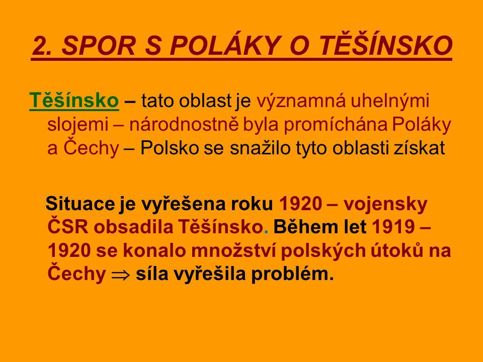 2. SPOR S POLÁKY O TĚŠÍNSKO