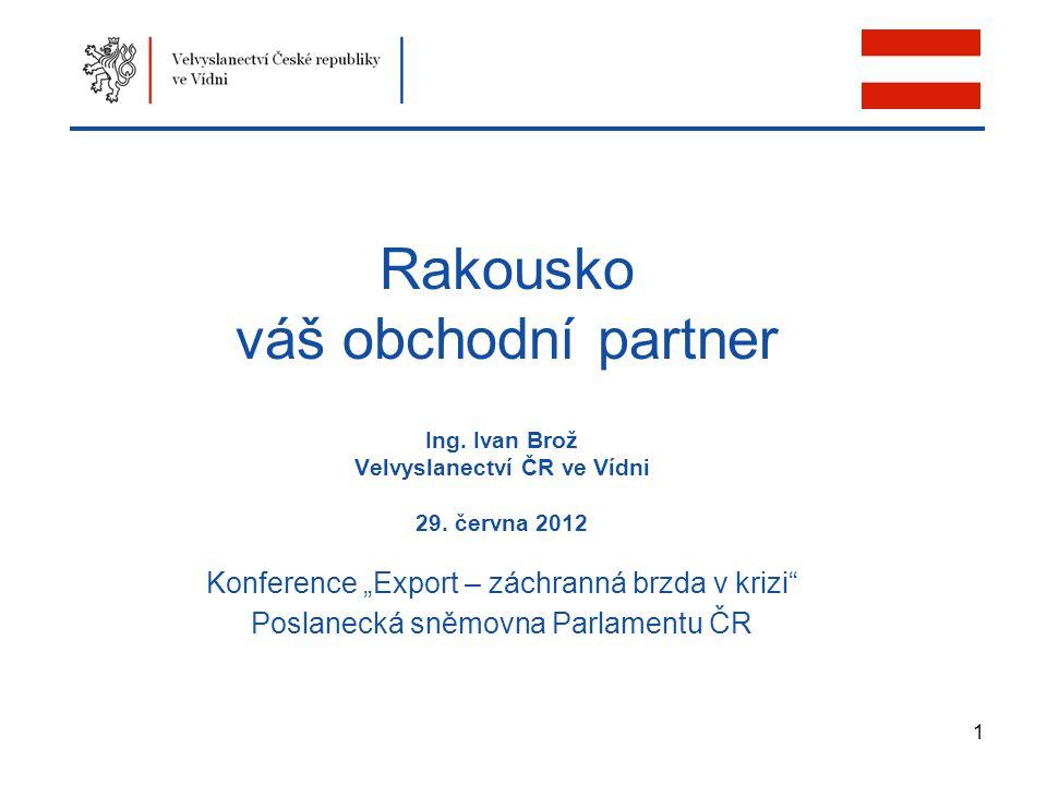 Rakousko váš obchodní partner