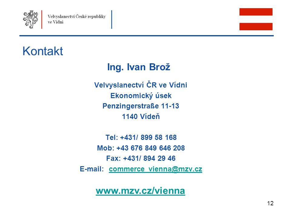 Velvyslanectví ČR ve Vídni