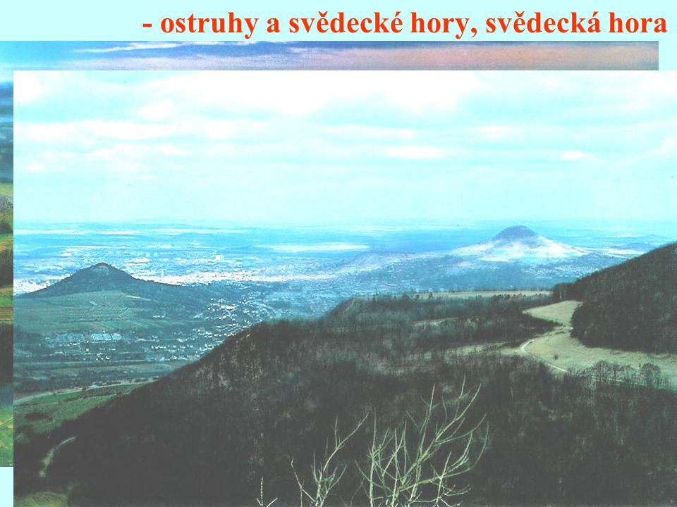 - ostruhy a svědecké hory, svědecká hora