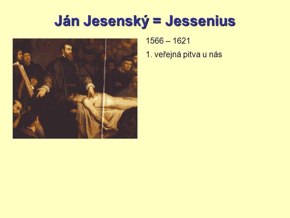 Ján Jesenský = Jessenius