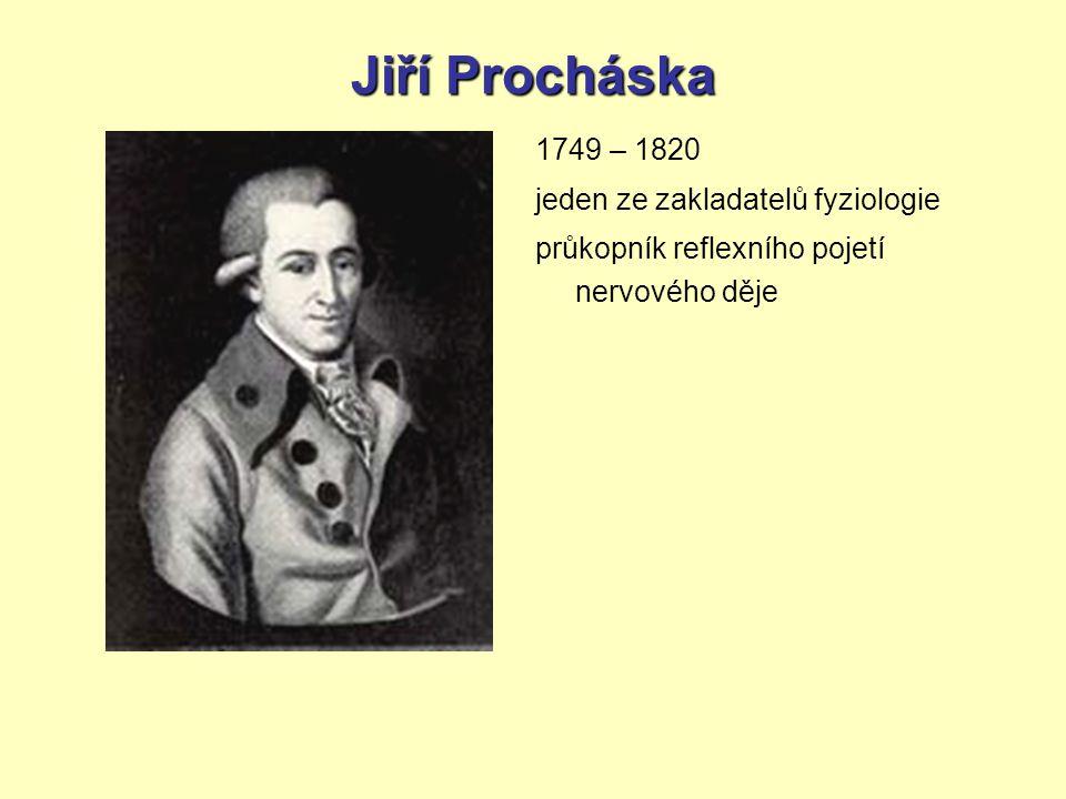 Jiří Procháska 1749 – 1820 jeden ze zakladatelů fyziologie