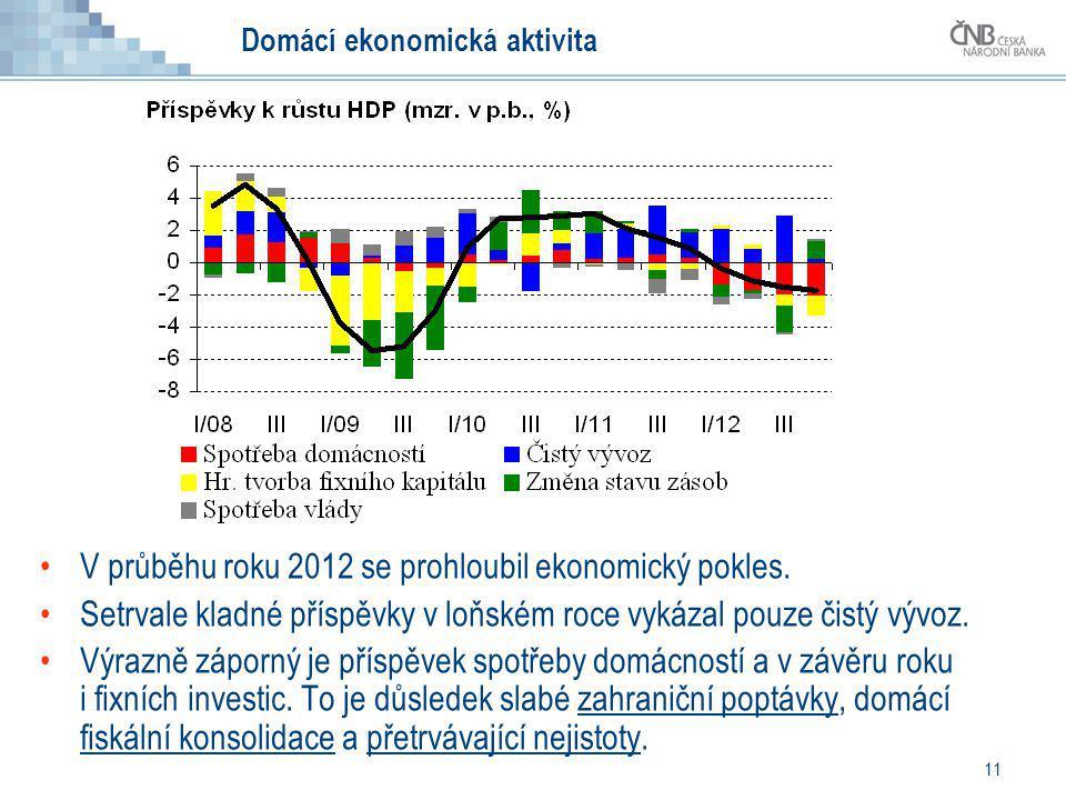 Domácí ekonomická aktivita