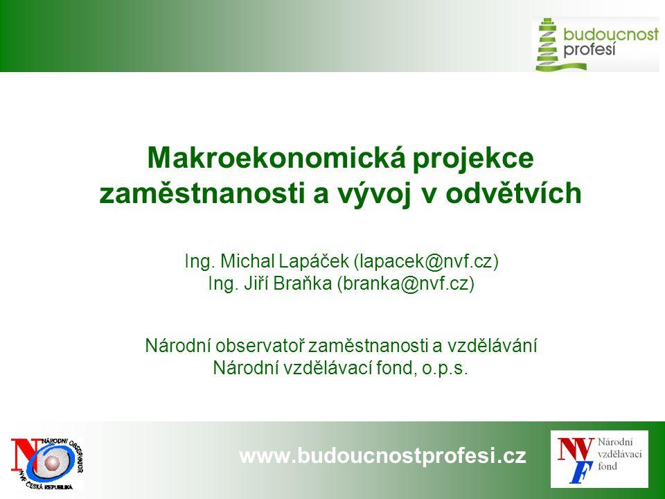 Makroekonomická projekce zaměstnanosti a vývoj v odvětvích
