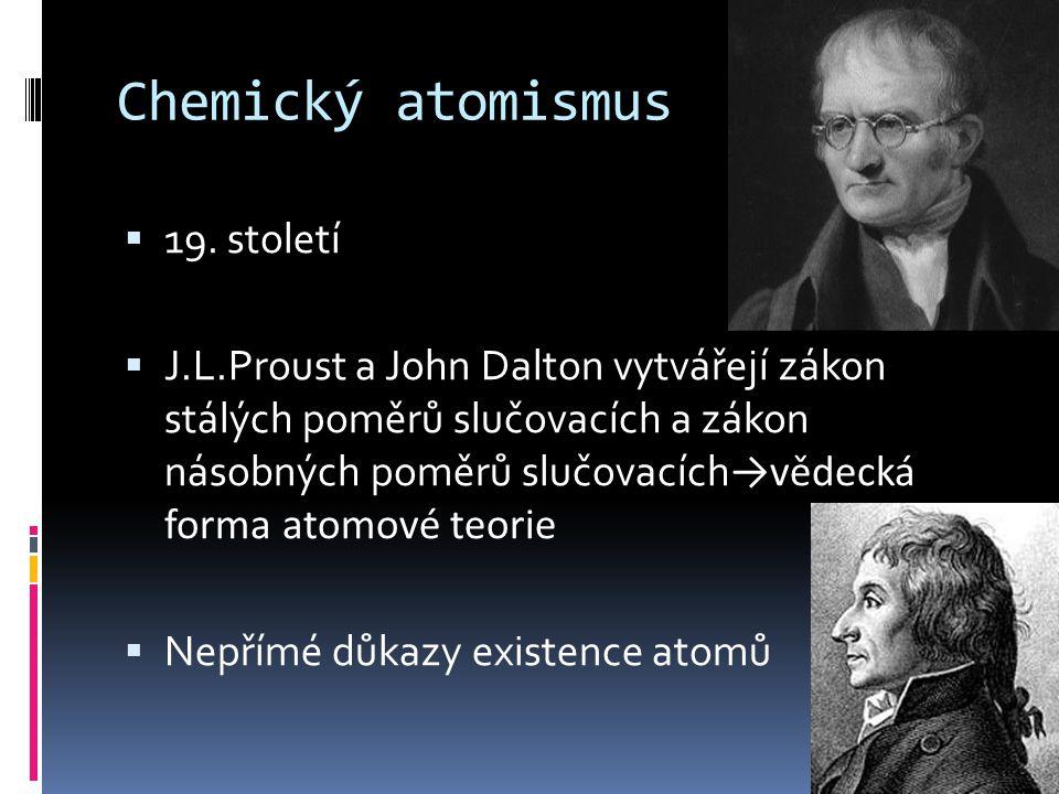 Chemický atomismus 19. století
