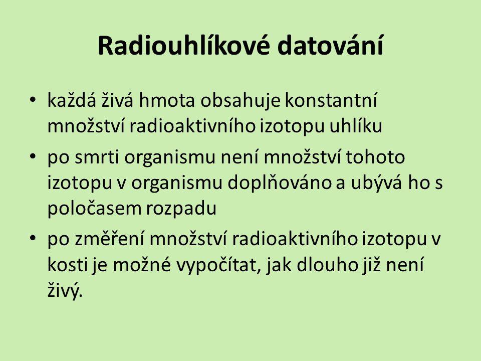 Radiouhlíkové datování