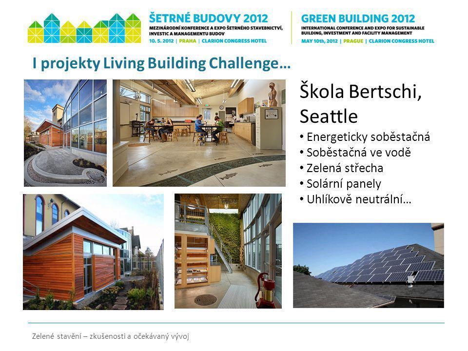 I projekty Living Building Challenge…