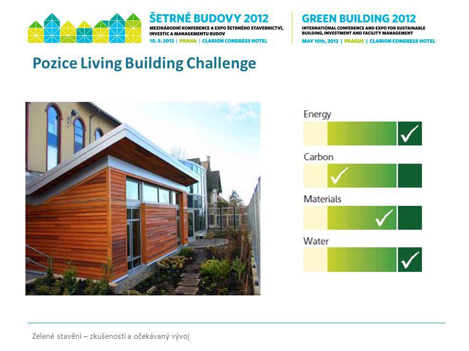 Pozice Living Building Challenge