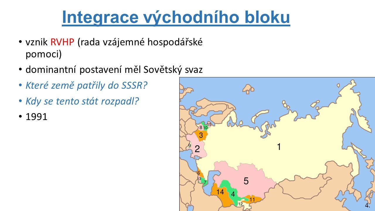 Integrace východního bloku