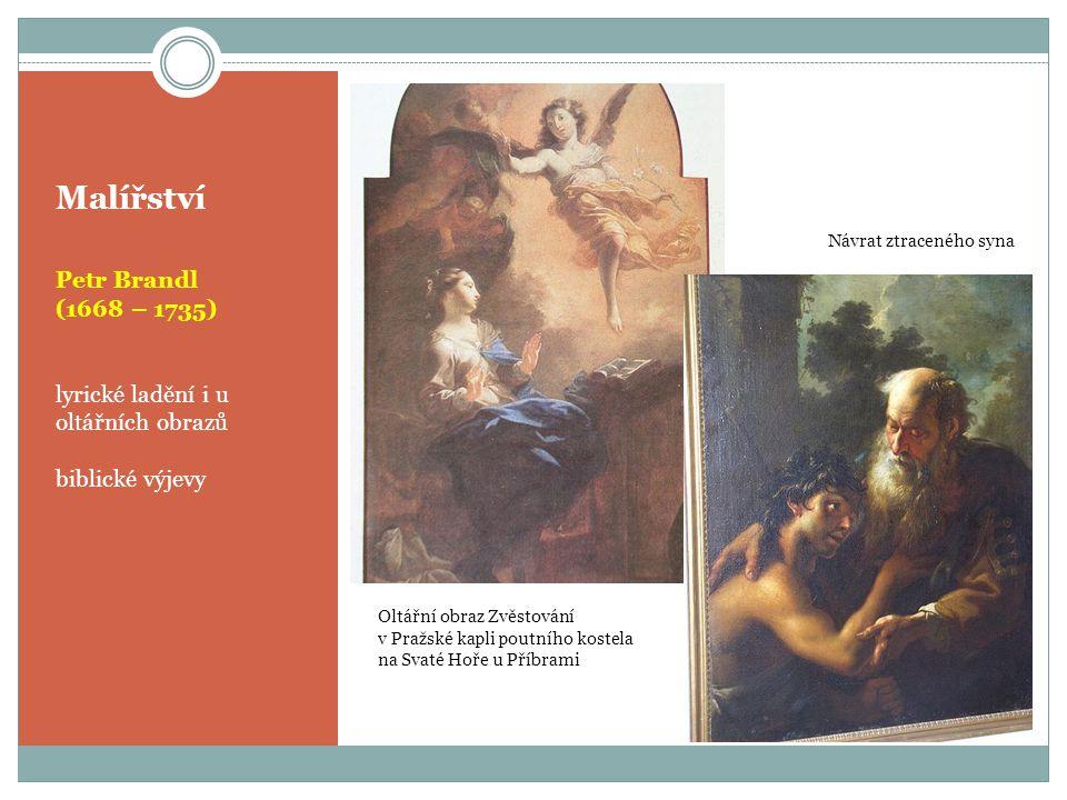 Malířství Petr Brandl (1668 – 1735)