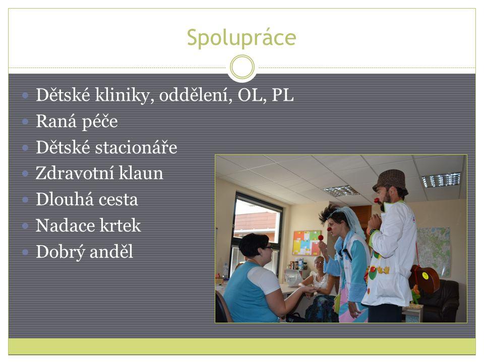 Spolupráce Dětské kliniky, oddělení, OL, PL Raná péče