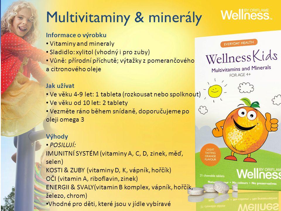 Multivitaminy & minerály