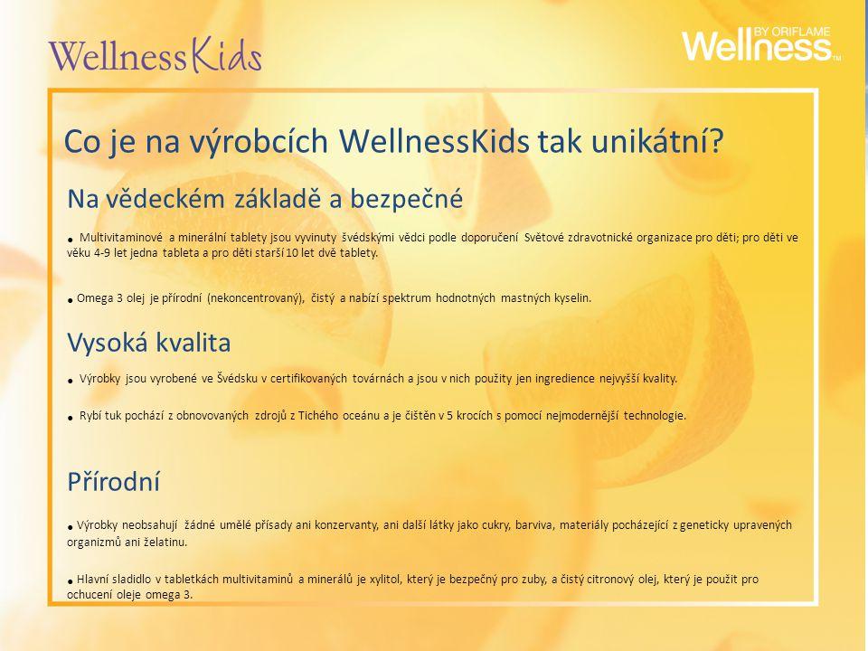 Co je na výrobcích WellnessKids tak unikátní