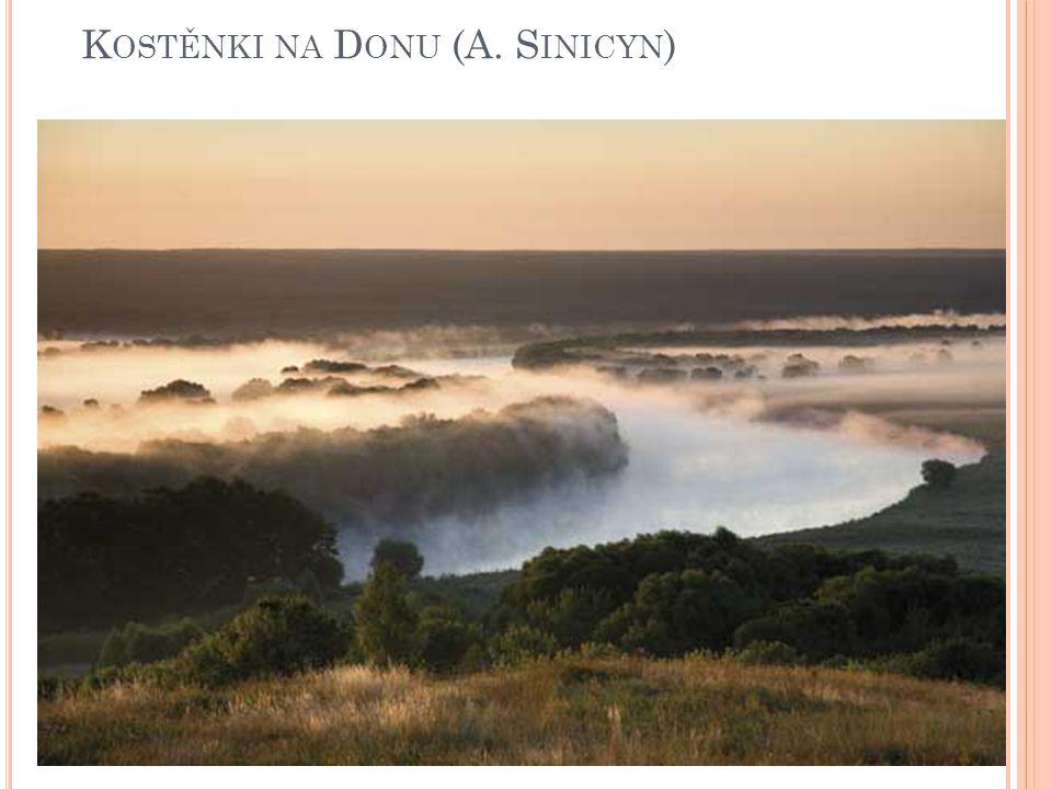 Kostěnki na Donu (A. Sinicyn)