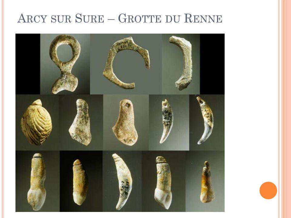Arcy sur Sure – Grotte du Renne