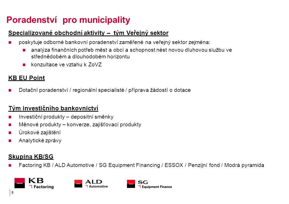 Poradenství pro municipality
