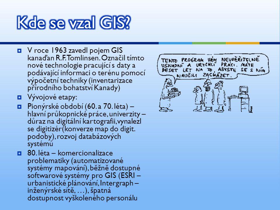 Kde se vzal GIS