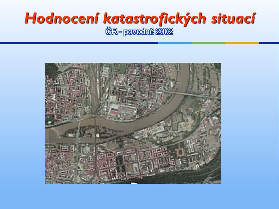 Hodnocení katastrofických situací ČR - povodně 2002