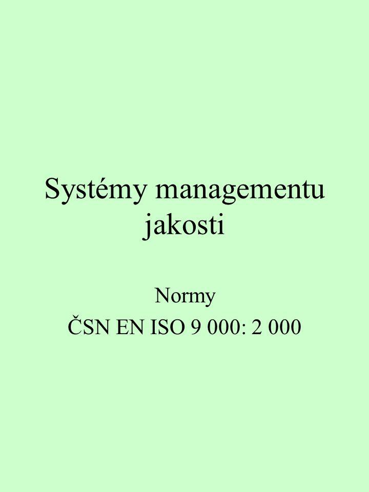Systémy managementu jakosti