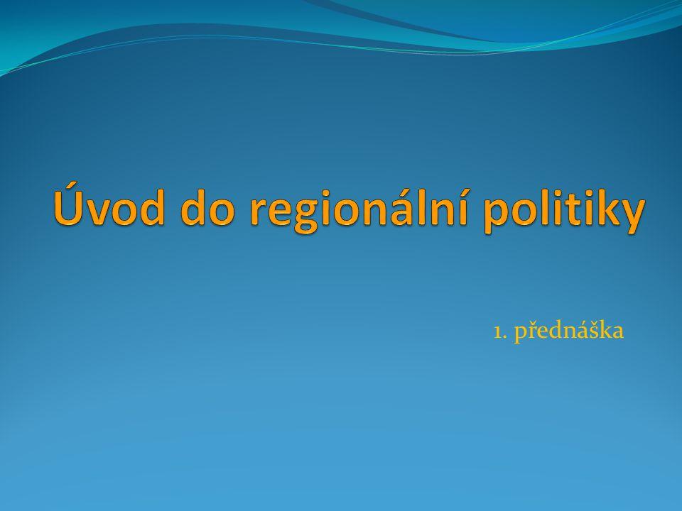 Úvod do regionální politiky