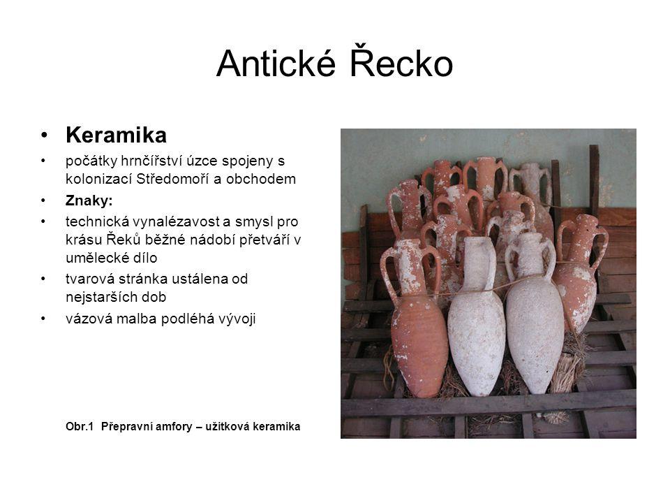 Antické Řecko Keramika
