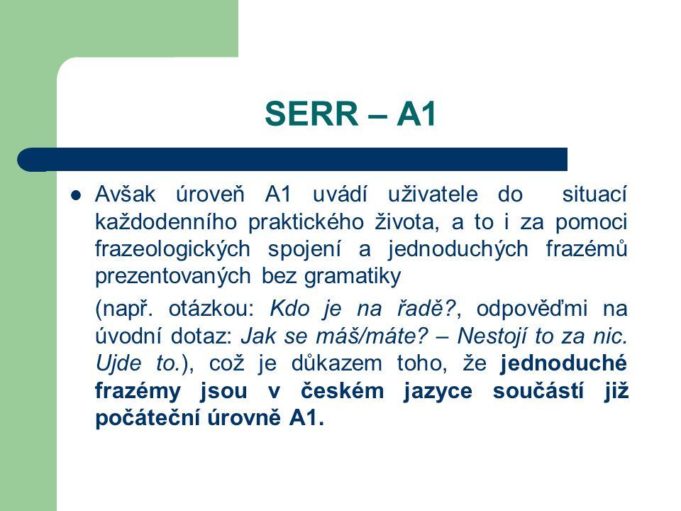 SERR – A1