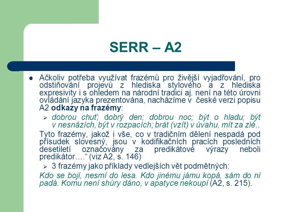 SERR – A2