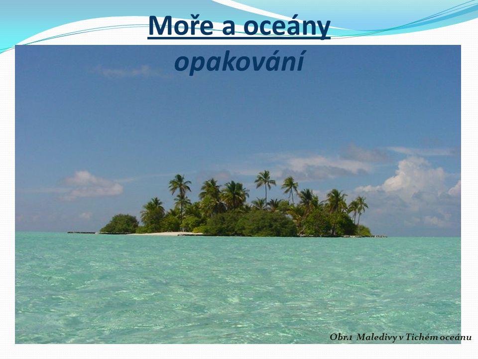 Moře a oceány opakování