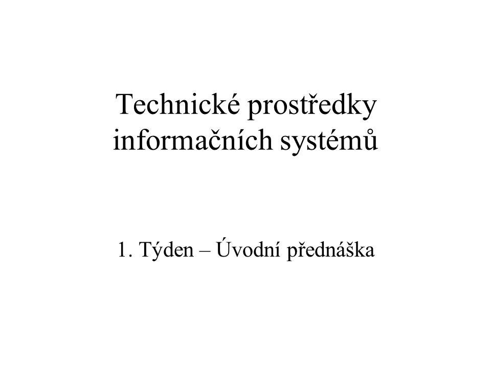 Technické prostředky informačních systémů